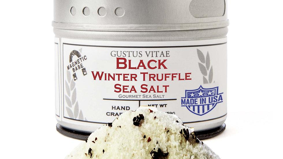 Italian Black Winter Truffle Sea Salt