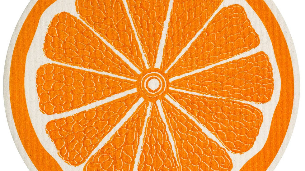 Orange Round Swedish Cloth