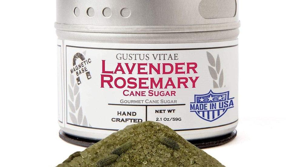 Lavender Rosemary Cane Sugar