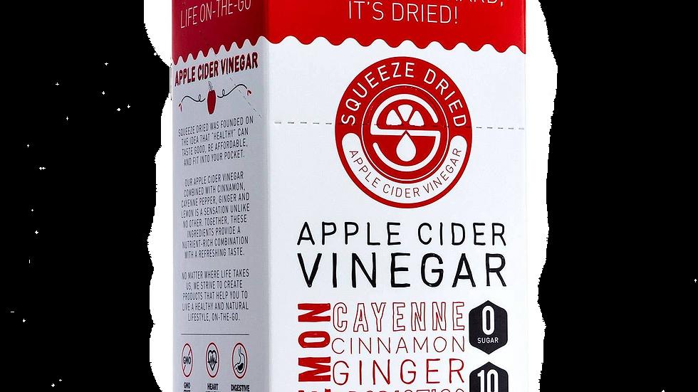 Squeeze Dried Apple Cider Vinegar - 30 Single Serving Sticks