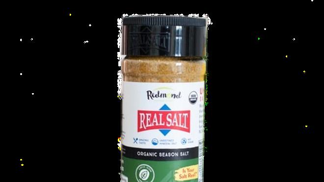 8.25 oz Redmond Real Salt, Seasoning - Organic Season Salt