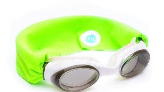 Splash Swim Goggles- Neon Green