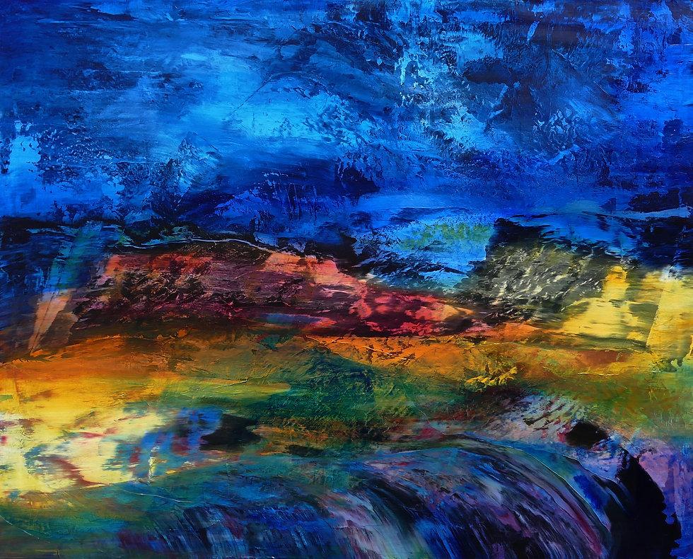 Erregend Erzsebet Nagy Saar Painting 2020
