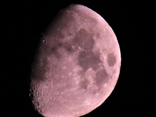 Full Strawberry Super Moon