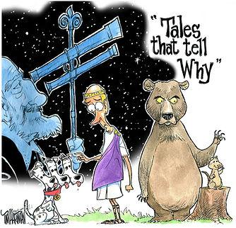 tales tell why Tim Hartman illustration story