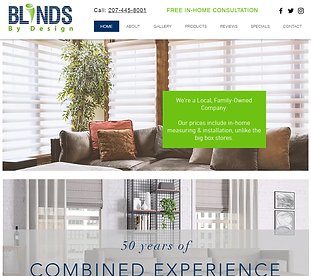 window-coverings-dealer-website-template