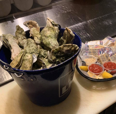 Bucket of Oysters
