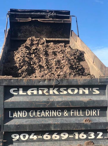 Clarkson's Land Clearing truck