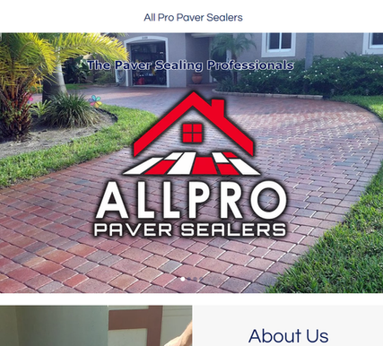 All Pro Paver Sealers