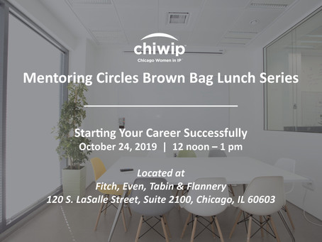 Mentoring Circles Brown Bag Lunch: Starting Your Career Successfully