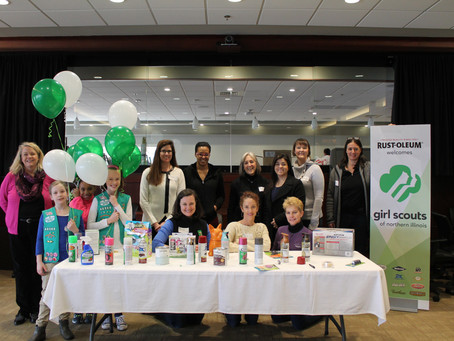February 2017: Girl Scouts IP Patch Event