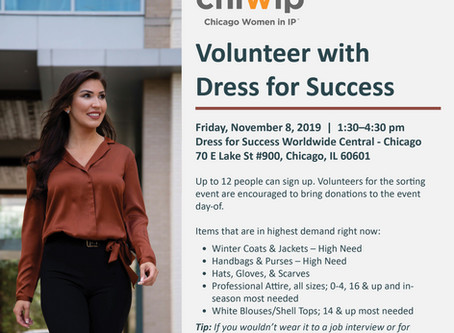 Volunteer with Dress for Success