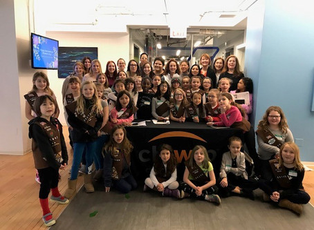 March 2019: Girl Scouts IP Patch Event