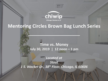 Mentoring Circles Brown Bag Lunch Series: Time vs. Money