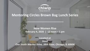 Mentoring Circles Brown Bag Lunch: How Women Rise