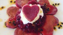 Pink Beetroot Pancakes