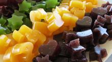 Healthy Rainbow Gummy Stars