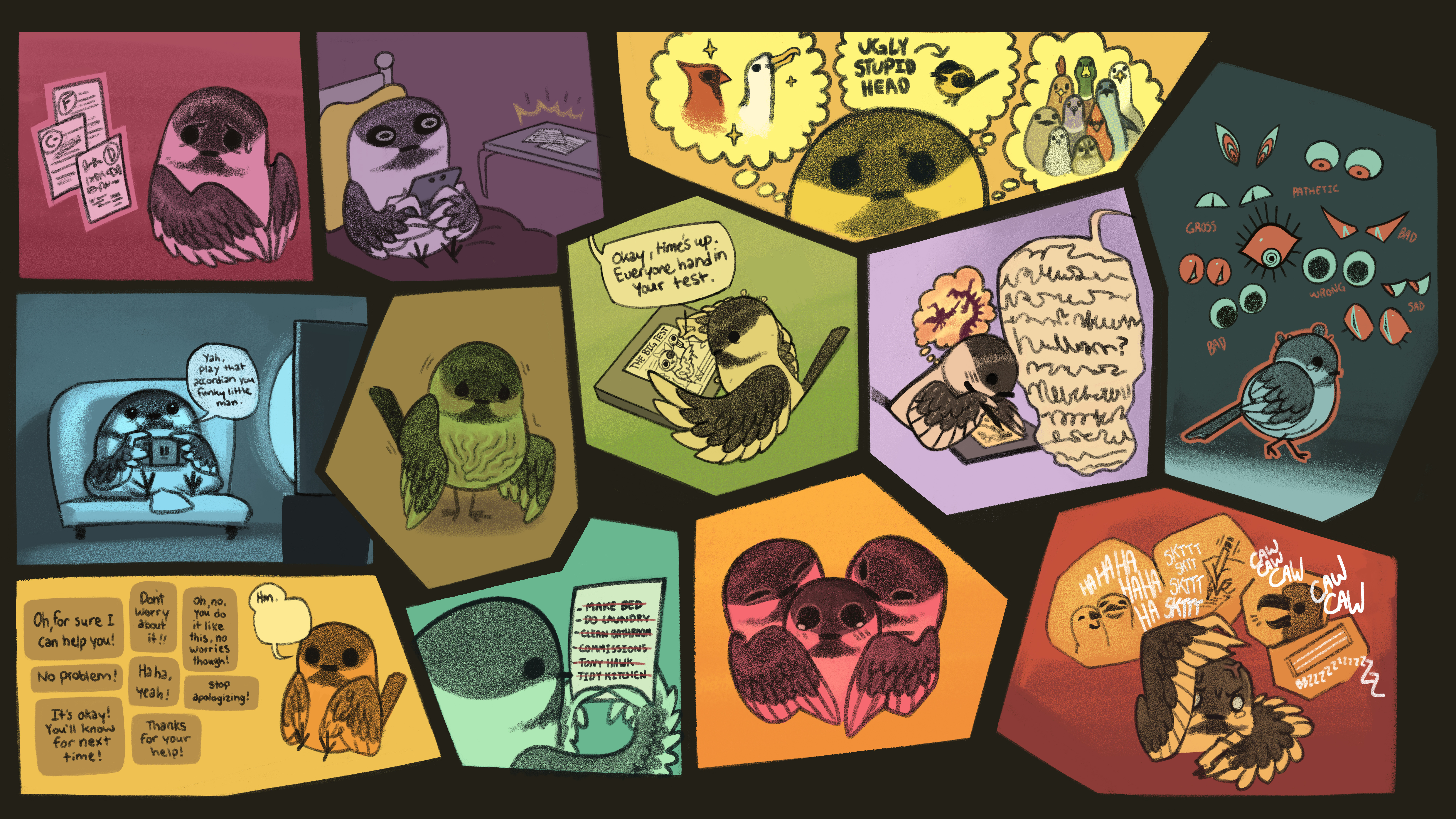 BIrd Anxiety Page 1
