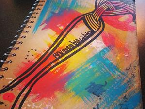 I do love a new sketch book!