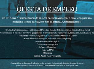 ¡Estamos buscando Area Business Manager!