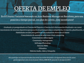 ¡Estamos buscando Area Business Manager!