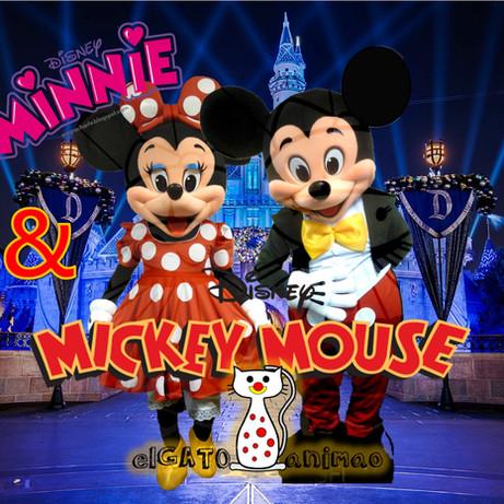 MICKEY & MINNIE MASCOTAS-ELGATO ANIMAO.j
