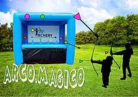 arco magico-diana bolas flotantes-elgatoanima-juego hinchable-alquiler hinchables