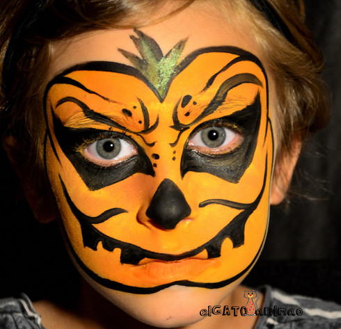 make up Pumpkin