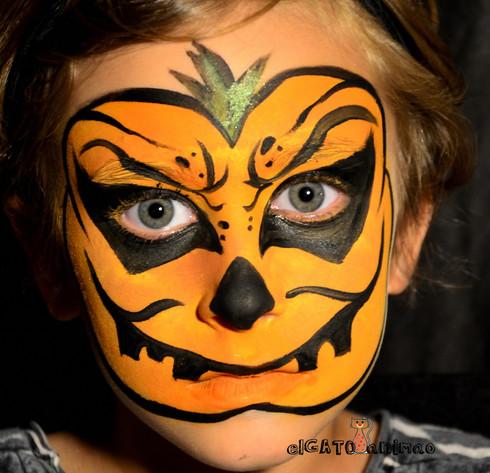 make up Pumpkin