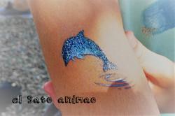 tatoo delfin