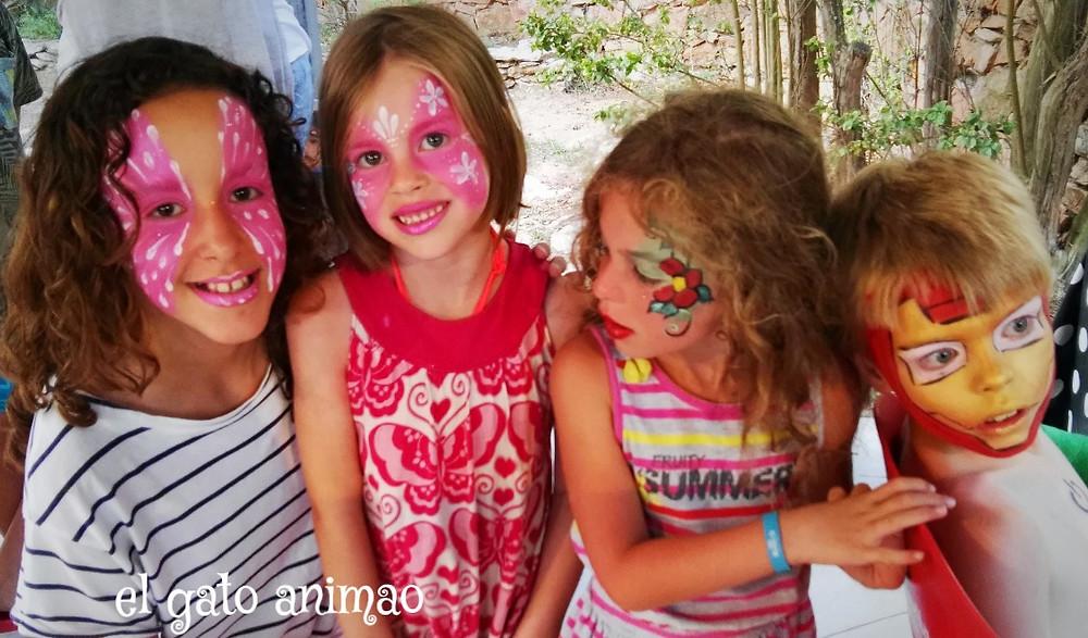 pintacaras, maquillaje infantil-elgatoanimao