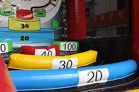 juego hinchable skee ball- punteria-elgatoanimao