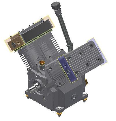 BA435/BA440 Piston Assembly