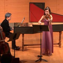 Allemande in e minor for violin and continuo, BWV 1023