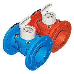 """It is a Horizontal Woltmann kind of water meter along with the removable insert. It is mainly used for the industry and irrigations and gives direct readings on the 7 numeric rolls. It is available in different sizes like DN50- 2"""", DN65- 2""""1/2, DN80- 3"""", DN100- 4"""", DN125- 5"""", DN150- 6"""", DN200-8"""" with the temperature of cold up-to 50°C and hot up to 90°C. Flange ISO 7005-2 / EN 1092-2 PN16"""