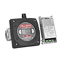 Digital Display Flow Meter With Pulser