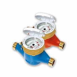 """It is a multi-jet, magnetic transmission, and dry dial water meter. The sizes of this involve DN15-1/2"""", DN20 – 3/4"""", DN25- 1"""", DN32- 1""""1/4, DN40- 1""""1/2, DN50- 2"""" in a version of cold and hot water temperature with 50° and 90° correspondently. It has inductive pre-equipment for the data communication module installation M-BUS wired, OMS wireless, and pulse output of non-magnetic. Direct reading of it based on the 5 numeric rolls and 6 rolls for only DN40 and DN50."""
