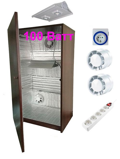 Гроубокс LED100 (аналог ДНаТ-400Вт) - Ш60хГ40хВ100см, без фильтра