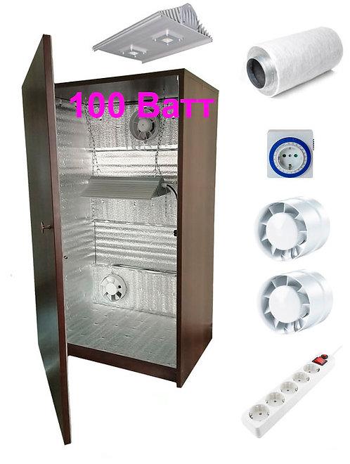 Гроубокс LED100 (аналог ДНаТ-400Вт) - Ш60хГ40хВ100см, с фильтром