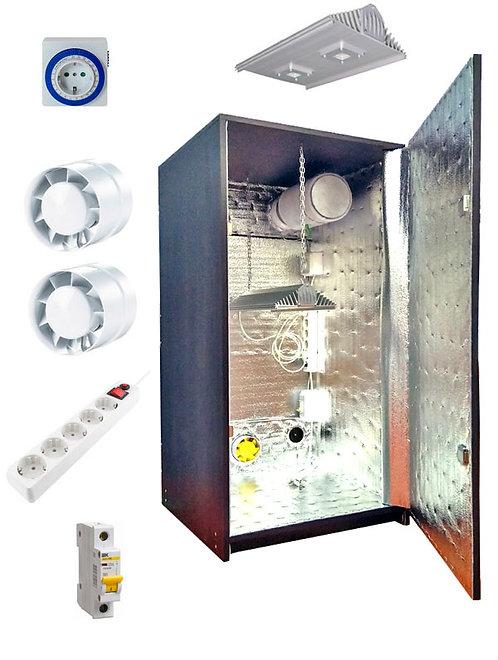 Гроубокс LED100 (аналог ДНаТ-400Вт) - Ш60хГ60хВ120см, без фильтра