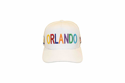 Boné MD1 Orlando branco