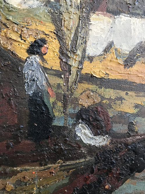 Les peintres voyageurs - Marine - Indochine