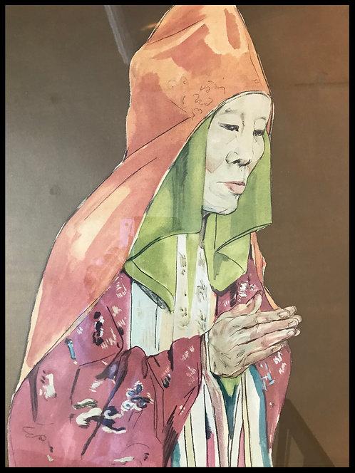 Boullard-Devé Marie-Antoinette (1890-1970) - Moine Boudhiste - Indochine