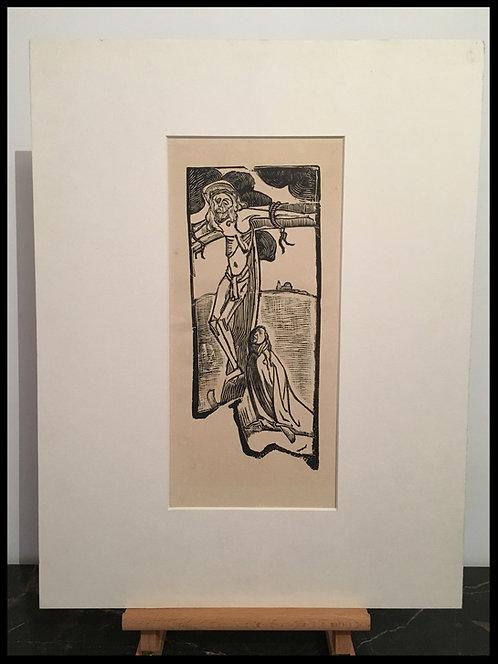 BERNARD Emile Henri (1868-1941) - Crucifixion