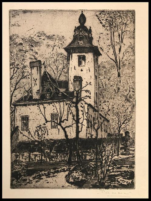 Masui Paul-Auguste (1888-1981) - Le Papenkasteel-Uccle