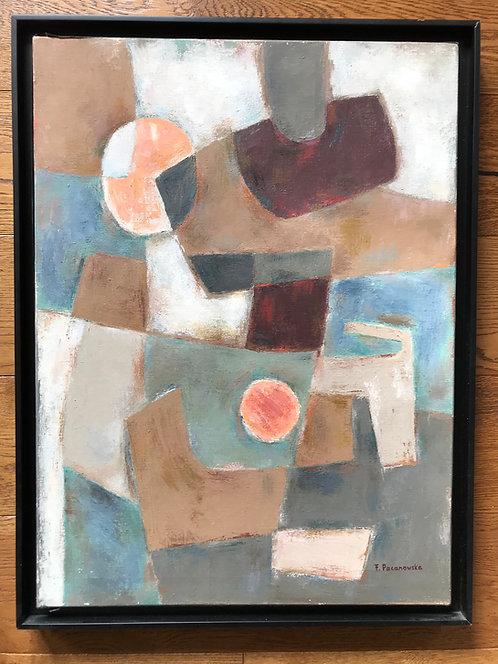 Pacanowska Felicia (1907-2002) - Abstraction géométrique