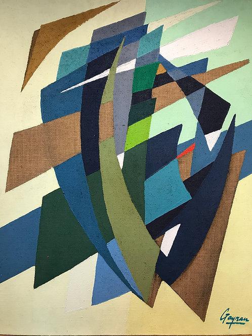 Leclerc-Gayrau Guy Abstraction géométrique