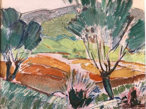 Masui Paul-Auguste (1888-1981) - Les Amandiers