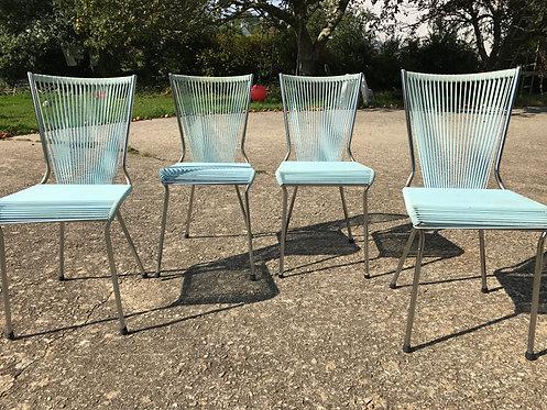 """Monpoix André (1925-1976) - Chaise """"Scoubidou"""""""