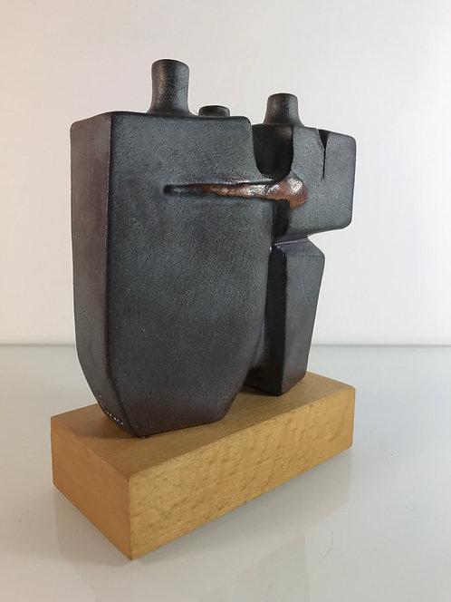 Claes Thell Suède Sculpture en grès
